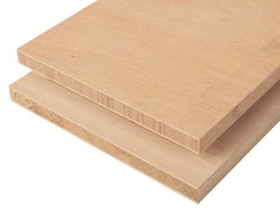 Material wood block board