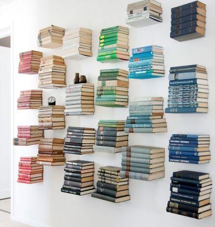 rak buku invisible