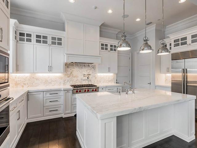 Disain Meja Marmer Mewah Untuk Dapur