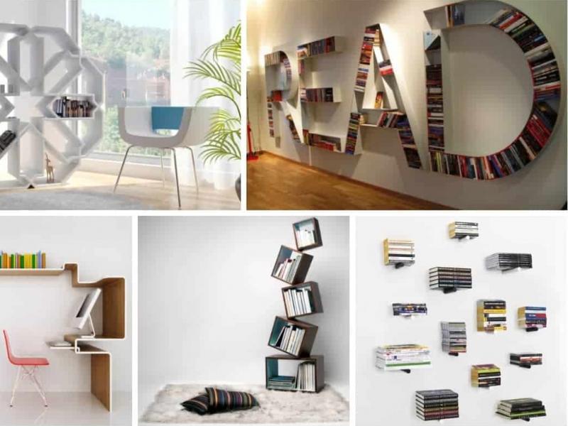 Book-Freak Pasti Suka: Konsep Rak Buku Paling Kreatif