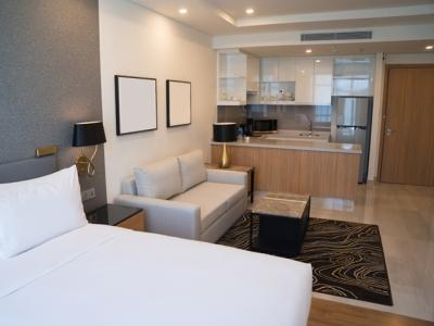 Desain Apartemen Studio ini Bikin Anda Betah di Rumah!