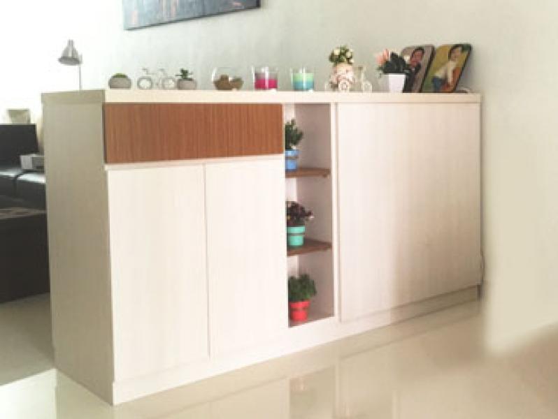 Kabinet Minimalis Pembatas Ruangan