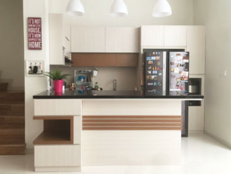 Kitchen Set Minimalis Summarecon Serpong