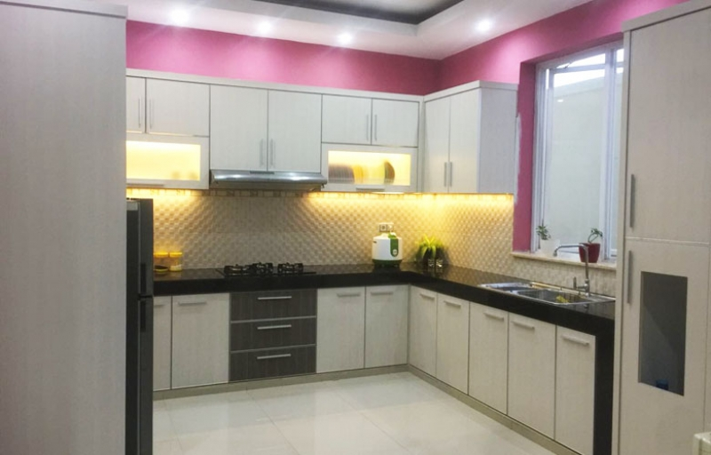 Kitchen Set Minimalis Serpong Paradise