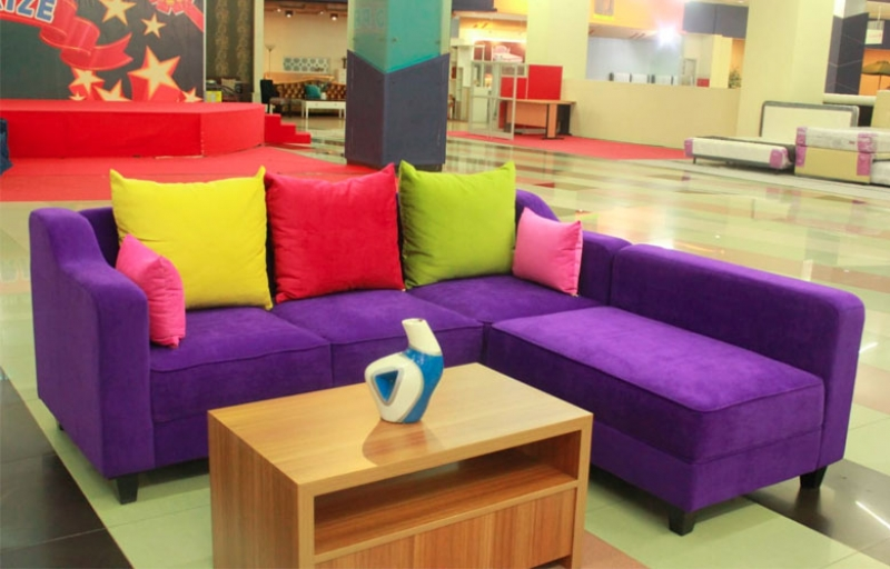 Sofa Pelangi L Shaped