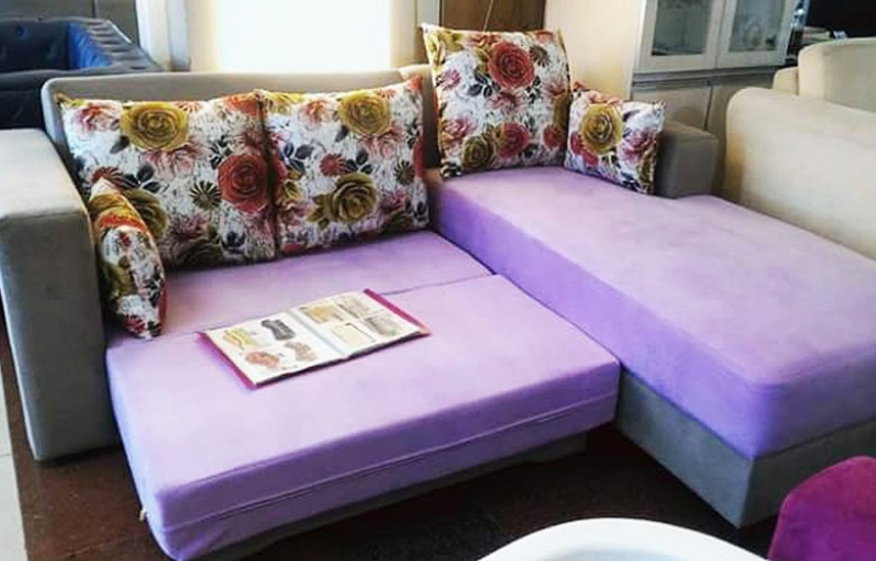 Sofa Bed Purple